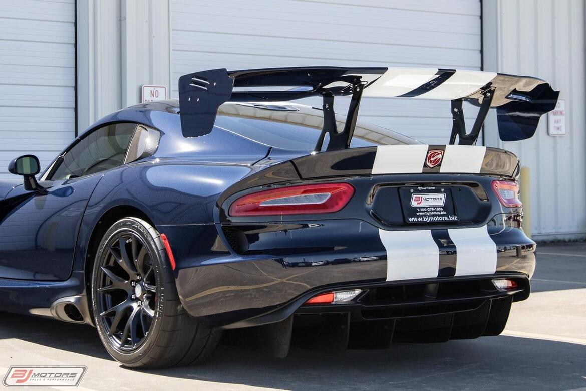 2016 Dodge Viper ACR EXTREME Tomball TX