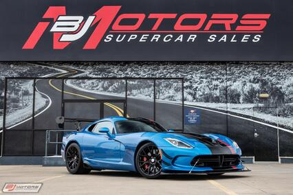 2016 Dodge Viper ACR Extreme 1 of 1 Tomball TX