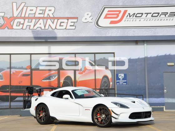 2016 Dodge Viper EXTREME ACR Tomball TX