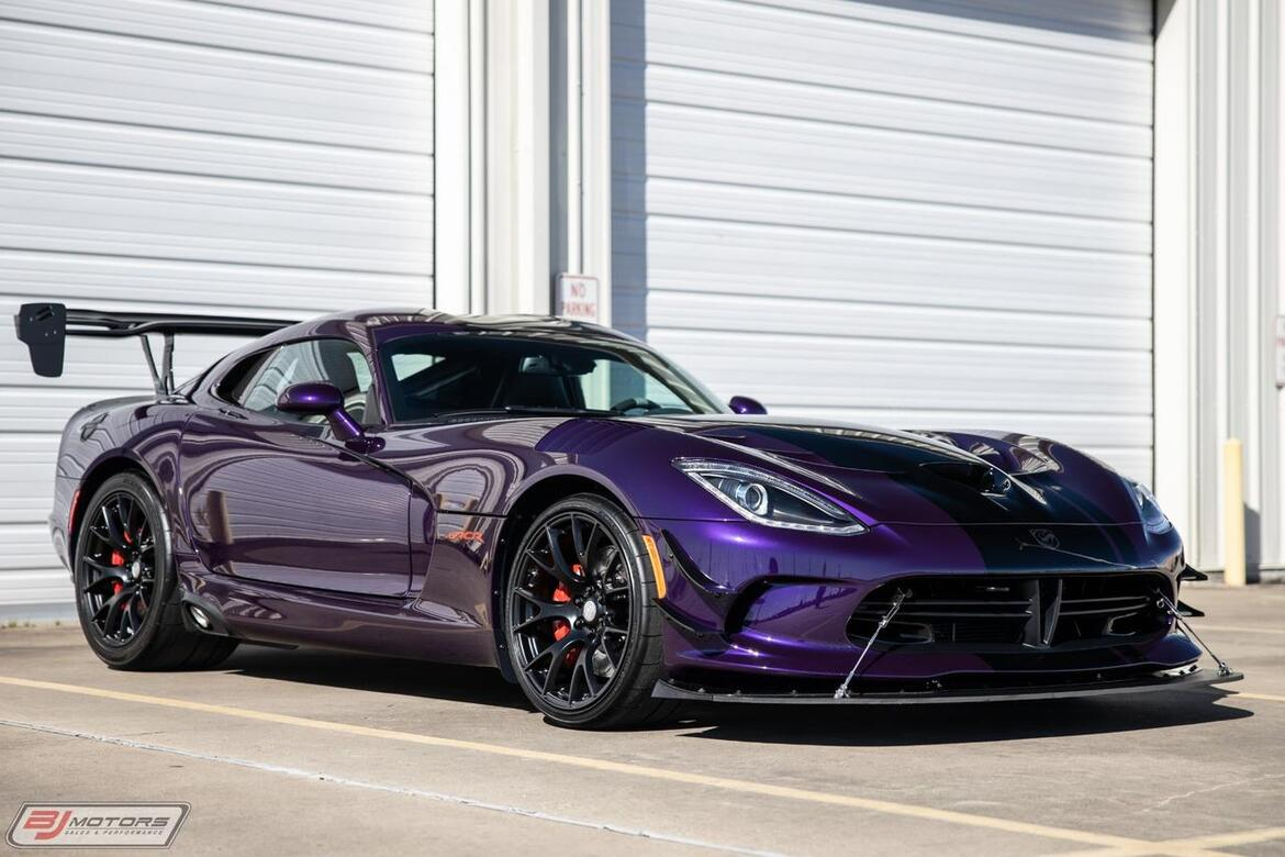 2016 Dodge Viper GTC Extreme ACR 1 of 1 Tomball TX