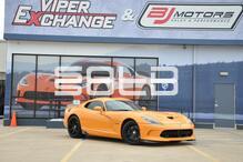 2016 Dodge Viper SRT TA 1.0