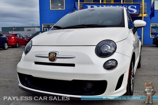 2016 FIAT 500 Abarth / Automatic / Heated Leather Seats / Bluetooth / Cruise Control / Only 6k Miles / 34 MPG / 1-Owner Anchorage AK