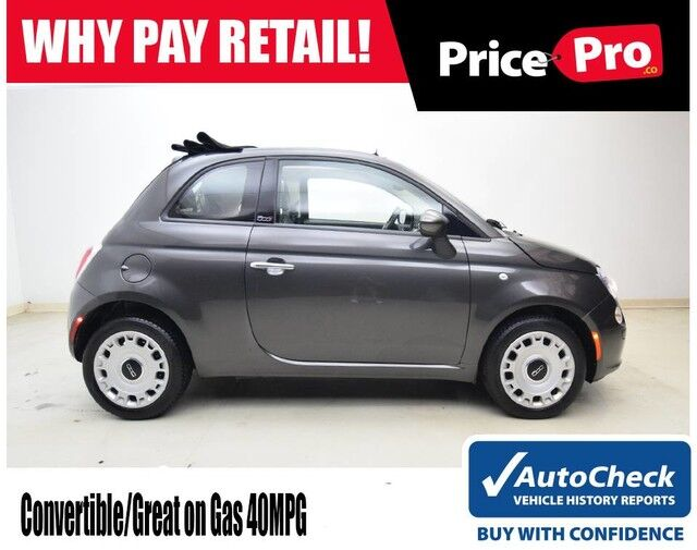 2016 FIAT 500c Convertible Pop Maumee OH