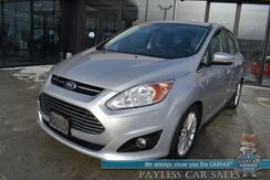 2016_Ford_C-Max Energi_SEL / Auto Start / Heated Leather Seats / Navigation / Sony Speakers / Bluetooth / Cruise Control / 40 MPG / Only 31K Miles_ Anchorage AK