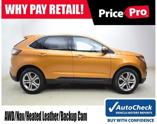 2016 Ford Edge Titanium AWD V6 w/Navigation