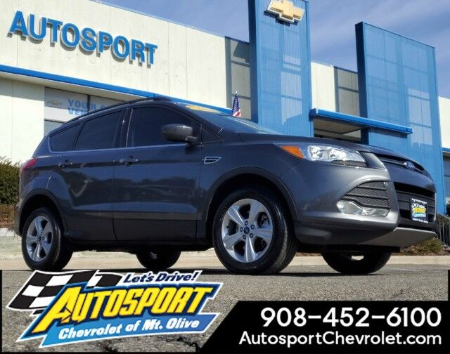 2016 Ford Escape 4wd 4dr Se â Voice Activated Touch Screen Navigation System Hackettstown Nj 28962240