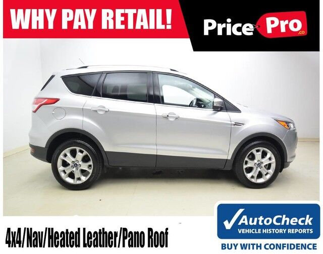 2016 Ford Escape 4wd Anium W Nav Sunroof Maumee Oh