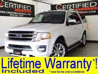 Ford Expedition EL LIMITED SUNROOF LEATHER HEATED/COOLED SEATS REAR CAMERA PARK ASSIST 2016
