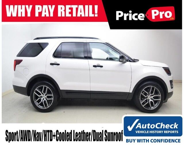 2016 Ford Explorer 4WD Sport w/Nav & Dual Sunroof Maumee OH