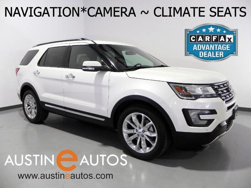 2016 ford explorer limited 4wd navigation backup camera touch screen leather climate seats. Black Bedroom Furniture Sets. Home Design Ideas