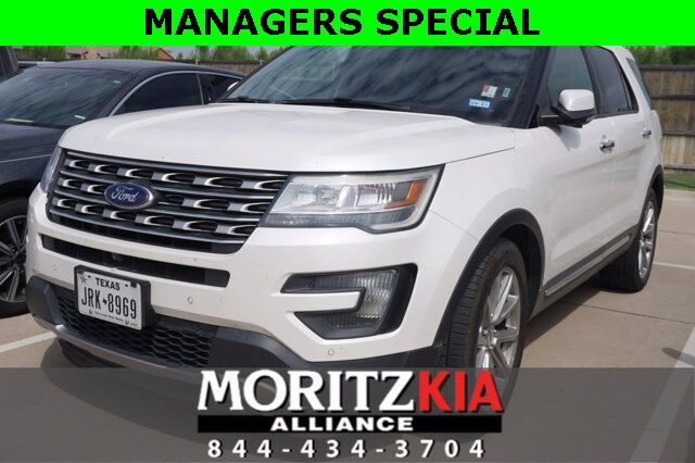 2016 Ford Explorer Limited Fort Worth TX
