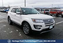 2016 Ford Explorer Platinum South Burlington VT