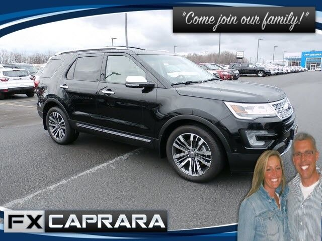 2016 Ford Explorer Platinum Watertown NY