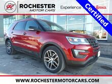 2016_Ford_Explorer_Sport w/ Heated Steering Wheel + Twin Panel Moonroof_ Rochester MN