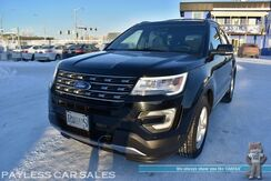2016_Ford_Explorer_XLT / AWD / Auto Start / Power & Heated Cloth Seats / Navigation / Bluetooth / Back Up Camera / Front & Rear Park Assist Sensors / 3rd Row / Seats 7 / Keyless Entry & Start / Aluminum Wheels / Block Heater_ Anchorage AK