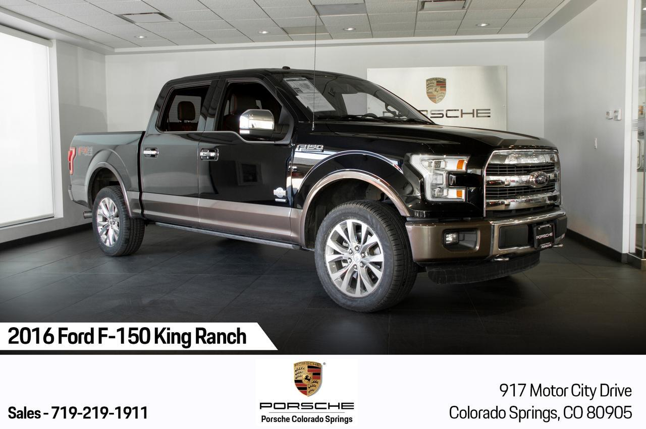 Vehicle Details 2016 Ford F 150 At Porsche Colorado Springs
