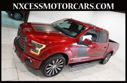 Ford F-150 Lariat PANO-ROOF NAVIGATION WINTER PKG 1-OWNER. 2016