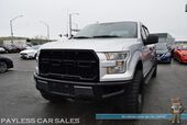 2016 Ford F-150 XLT / 4X4 / 3.5L Ecoboost / Crew Cab / Lifted / 35in Off Road Tires / Power Driver's Seat / Seats 6 / Bluetooth / Back Up Camera / USB & AUX Jacks / Cruise Control / Bed Liner / Tonneau Cover / Tow Pkg / 22 MPG