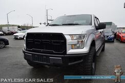2016_Ford_F-150_XLT / 4X4 / 3.5L Ecoboost / Crew Cab / Lifted / 35in Off Road Tires / Power Driver's Seat / Seats 6 / Bluetooth / Back Up Camera / USB & AUX Jacks / Cruise Control / Bed Liner / Tonneau Cover / Tow Pkg / 22 MPG_ Anchorage AK