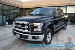 2016_Ford_F-150_XLT / 4X4 / Crew Cab / 5.0L V8 / Power Locks & Windows / Bluetooth / Back Up Camera / Cruise Control / Tonneau Cover / Bed Liner / Tow Pkg / Block Heater / 21 MPG / 1-Owner_ Anchorage AK