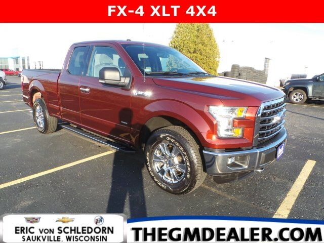 2016 Ford F-150 XLT FX-4 SuperCab 4WD 2.7L EcoBoost w/18sChromes HtdCloth RearCamera Milwaukee WI
