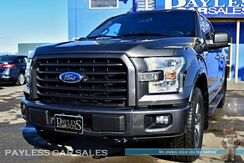 2016_Ford_F-150_XLT / Sport Appearance Pkg / 4X4 / 5.0L V8 / Crew Cab / Heated & Power Seats / Panoramic Sunroof / Navigation / Auto Start / Microsoft Sync Bluetooth / Back-Up Camera / Bed Liner / Tow Pkg / 1-Owner_ Anchorage AK
