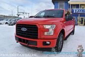 2016 Ford F-150 XLT / Sport Appearance Pkg / 4X4 / Crew Cab / Auto Start / Power & Heated Seats / Bluetooth / Back Up Camera / Park Assist Sensors / Power Adjustable Pedals / Bed Liner / Tow Pkg / Block Heater / 1-Owner