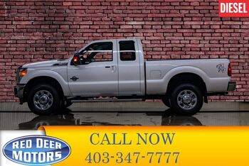 2016_Ford_F-350_4x4 Super Cab Lariat Diesel Leather Nav BCam_ Red Deer AB