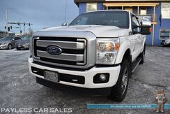 2016_Ford_F-350_Platinum / 4X4 / 6.7L Turbo Diesel V8 / Crew Cab / Heated & Cooled Leather Seats / Heated Steering Wheel / Heated Rear Seats / Navigation / Sunroof / Sony Speakers / Auto Start / Bluetooth / Back Up Camera / Tow Pkg / Block Heater_ Anchorage AK