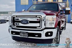 2016_Ford_F-350 Super Duty_Lariat / 6.7L Power Stroke Turbo Diesel / 4X4 / Crew Cab / Long Bed / Power & Heated Leather Seats / Navigation / Sony Speakers / Auto Start / Microsoft Sync Bluetooth / Back Up Camera / Tow Pkg / 1-Owner_ Anchorage AK