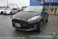 2016_Ford_Fiesta_SE Hatchback / Automatic / Heated Seats / Auto Start / Microsoft Sync Bluetooth / USB & AUX Jacks / Cruise Control / Power Mirrors Windows & Locks / Rear Spoiler / Low Miles / 37 MPG_ Anchorage AK
