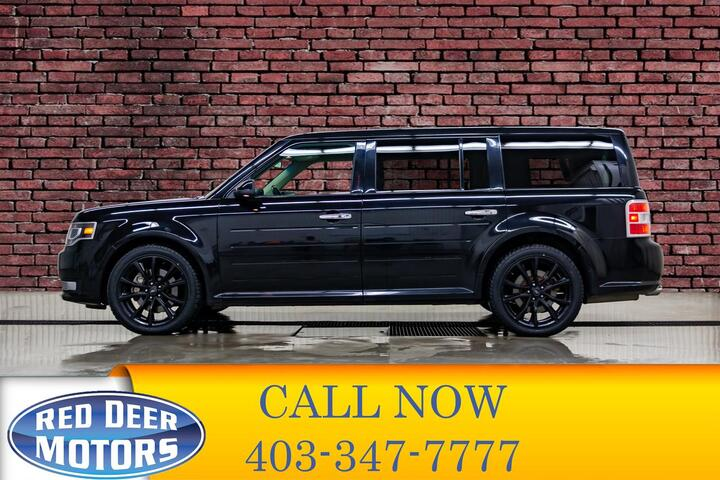 2016 Ford Flex AWD Limited Leather Roof Nav Red Deer AB