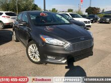 2016_Ford_Focus_Titanium   LEATHER   ROOF   CAM   1OWNER_ London ON