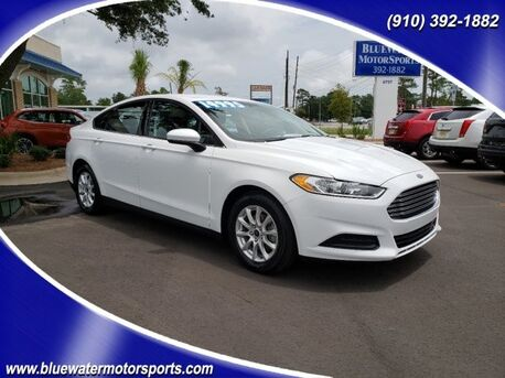 2016_Ford_Fusion_S_ Wilmington NC