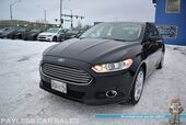 2016 Ford Fusion SE / AWD / Auto Start / Power & Heated Seats / Microsoft Sync Bluetooth / Back Up Camera & Back Up Sensors / Keyless Entry / Aluminum Wheels / Rear Spoiler / Block Heater / 31 MPG / 1-Owner