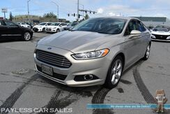 2016_Ford_Fusion_SE / AWD / Ecoboost / Auto Start / Power Seats / Bluetooth / Back Up Camera / Lane Departure Warngin / Blind Spot Alert / Cruise Control / Aluminum Wheels / 31 MPG / 1-Owner_ Anchorage AK