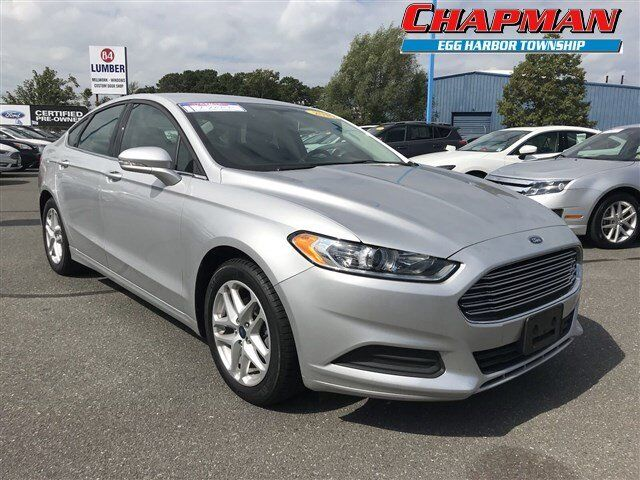 2016 Ford Fusion Se Egg Harbor Township Nj