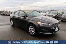 2016 Ford Fusion SE South Burlington VT