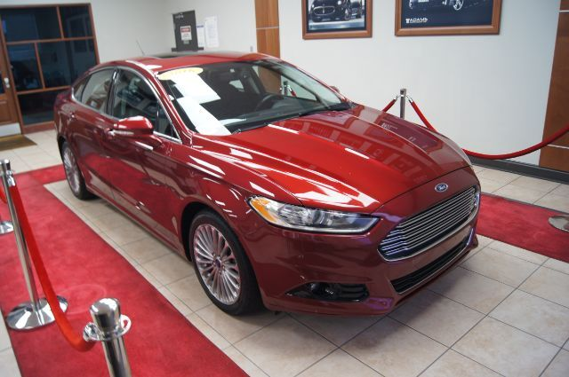 2016 Ford Fusion TITANIUM WITH LEATHER AND SUN ROOF Charlotte NC