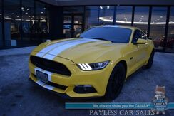 2016_Ford_Mustang_GT / 5.0L V8 / 6-Spd Manual / Heated & Cooled Leather Seats / Navigation / Shaker Stereo / Blind Spot Alert / Bluetooth / Back Up Camera / 25 MPG / Only 19k Miles_ Anchorage AK