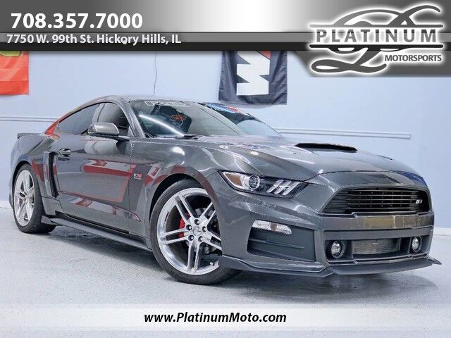 2016 Ford Mustang Roush RS3 Supercharged Full Exhaust Baer Brakes Leather Nav Fully Loaded Hickory Hills IL