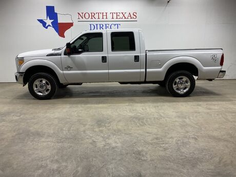 2016 Ford Super Duty F-250 SRW XLT 4x4 Diesel Crew Short Bed Bluetooth Alloys Bed Liner Mansfield TX