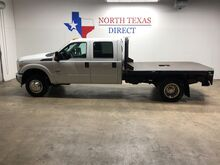 2016_Ford_Super Duty F-350 DRW_F350 XL 4x4 Dually 6.7 Diesel Flatbed Crew Bluetooth_ Mansfield TX