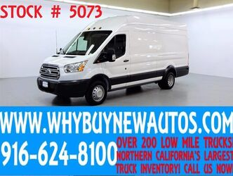 Ford Transit 350 ~ High Roof Ext. Length ~ Cargo Van ~ PowerStroke Diesel ~ Dually ~ Only 9K Miles! 2016