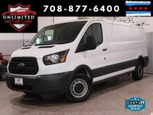2016_Ford_Transit Cargo Van_Ladder Rack! Metal Shelving! Ready For Work!! 1 Owner!_ Bridgeview IL