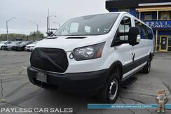 2016_Ford_Transit Passenger Van_/ T-350 / XLT Low Roof / 4X4 Quigley Conversion / 15 Passenger / 3.5L V6 / Power Driver's Seat / Power Mirrors Windows & Locks / Aux Jack / Back Up Camera / Block Heater / Low Miles / 1-Owner_ Anchorage AK