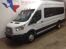 2016_Ford_Transit Wagon_FREE DELIVERY XLT Extended High Roof Dually 15 Passenger Van Camera_ Mansfield TX