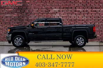 2016_GMC_Sierra 2500HD_4x4 Crew Cab SLE Leather BCam_ Red Deer AB