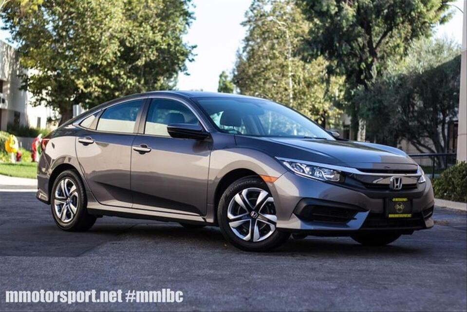 2016_Honda_Civic_LX Sedan 4D_ Long Beach CA