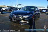 2016 Honda Civic Sedan Touring / Front & Rear Heated Leather Seats / Navigation / Sunroof / Adaptive Cruise Control / Auto Start / Right Side Lane Watch / Lane Departure Warning / Forward Collision Alert / Back Up Camera / 42 MPG / Low Miles